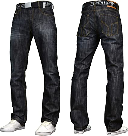 TALLA 34W / 30L. Smith and Jones - Vaquero - Straight - para hombre
