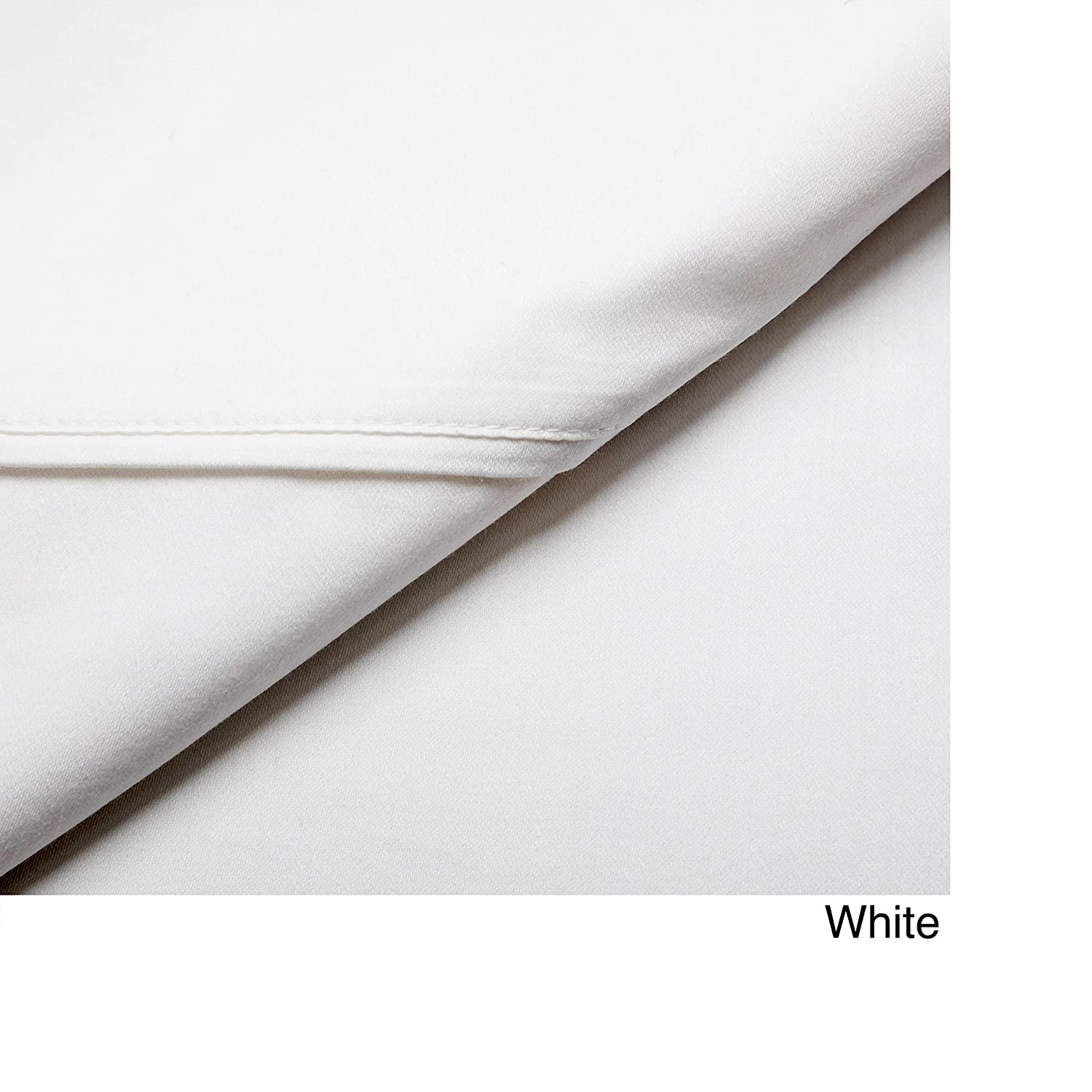 White Rizzy Home 100/% Cotton 4 Piece Sheet Set Queen