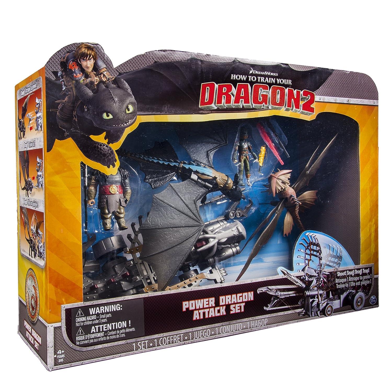 Amazon: Dreamworks Dragons  How To Train Your Dragon 2  Power Dragon  Attack Set: Toys & Games