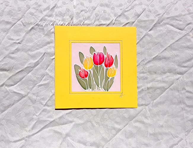 Sale30 OffOriginal Red Tulips CardTulips Birthday Card