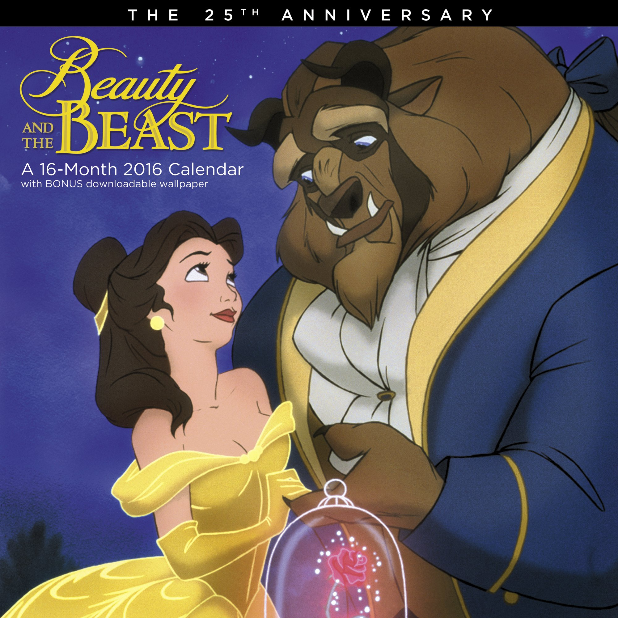 Beauty and the Beast Wall Calendar (2016) ebook