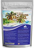 Organic Ultra-Premium Coconut Activated Charcoal Powder. Whitens Teeth, Rejuvenates Skin. Ideal for Detox or Accidental poisoning. USA-Owned Producers, Tested Pure and Safe. Food Grade. FREE scoop!