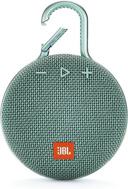 Jbl Clip 3 Bluetooth Lautsprecher In Türkis Wasserdichte Tragbare Musikbox Mit Praktischem Karabiner Bis Zu 10 Stunden Kabelloses Musik Streaming Audio Hifi