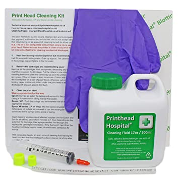 Printhead Hospital - Kit de limpieza para cabezales de impresoras ...