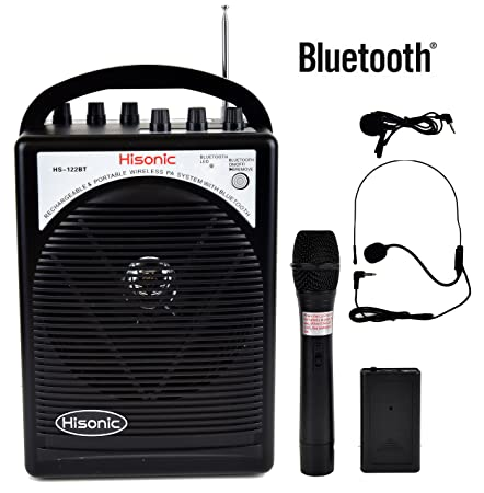 Review Hisonic HS122BT-HL Portable and