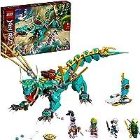 LEGO 71746 Ninjago Dragón de la Jungla, Juguete de construcción con Mini Figuras de Ninja Lloyd y Zane, para Niños de a…