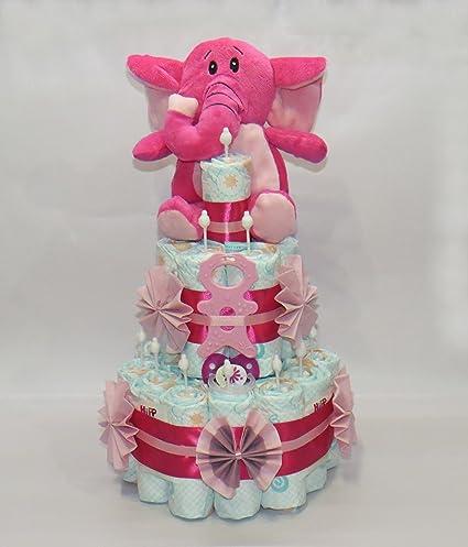 pañales para tartas - Pañales para tartas con elefante Mordedor ...