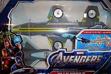 Marvel Avengers Helicarrier Plane Launcher
