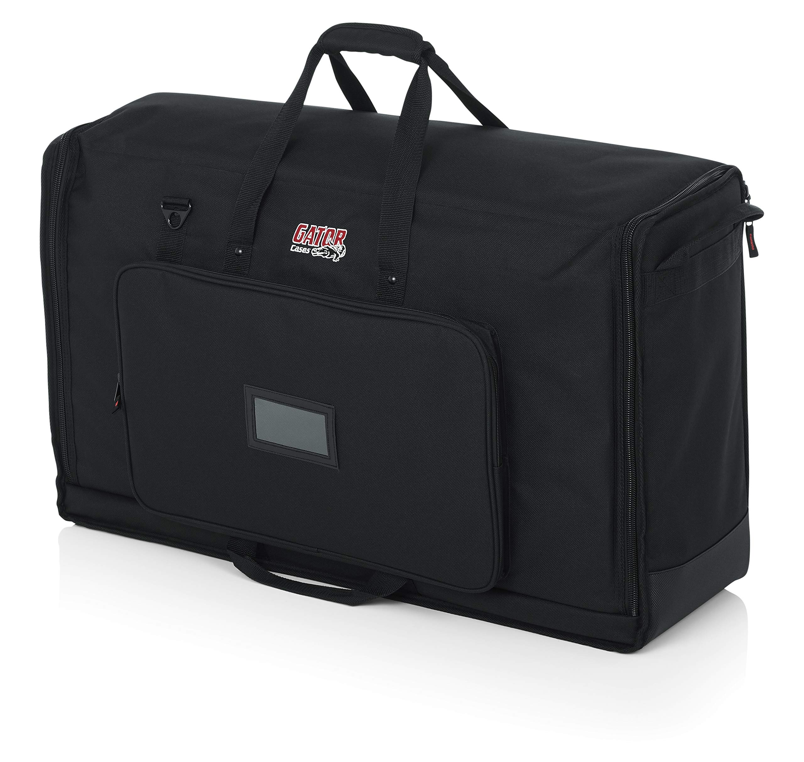 Gator Cases Padded Nylon Dual Carry Tote Bag for Transporting (2) LCD Screens, Monitors and TVs Between 27'' - 32''; (G-LCD-TOTE-MDX2)
