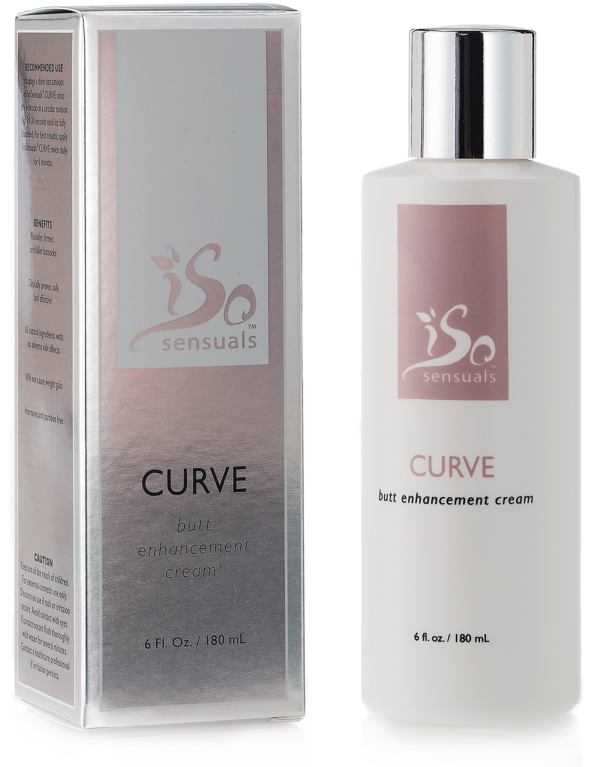 IsoSensuals Curve Butt Enhancement Cream - 1 Bottle (2 Month Supply) by IsoSensuals (Image #1)