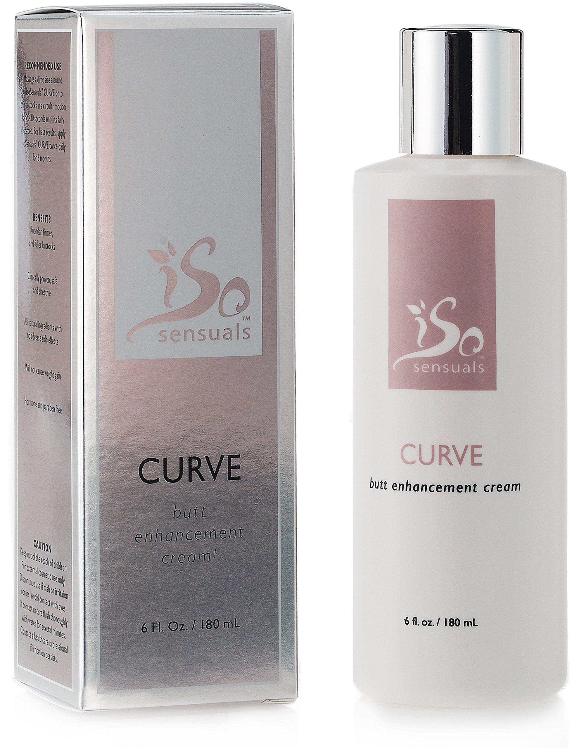 IsoSensuals CURVE | Butt Enhancement Cream - 1 Bottle | 2 Month Supply