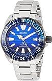 [セイコーウォッチ] 腕時計 プロスペックス Save the Oceanモデル メカニカルダイバーズ 青文字盤 SBDY019 メンズ シルバー