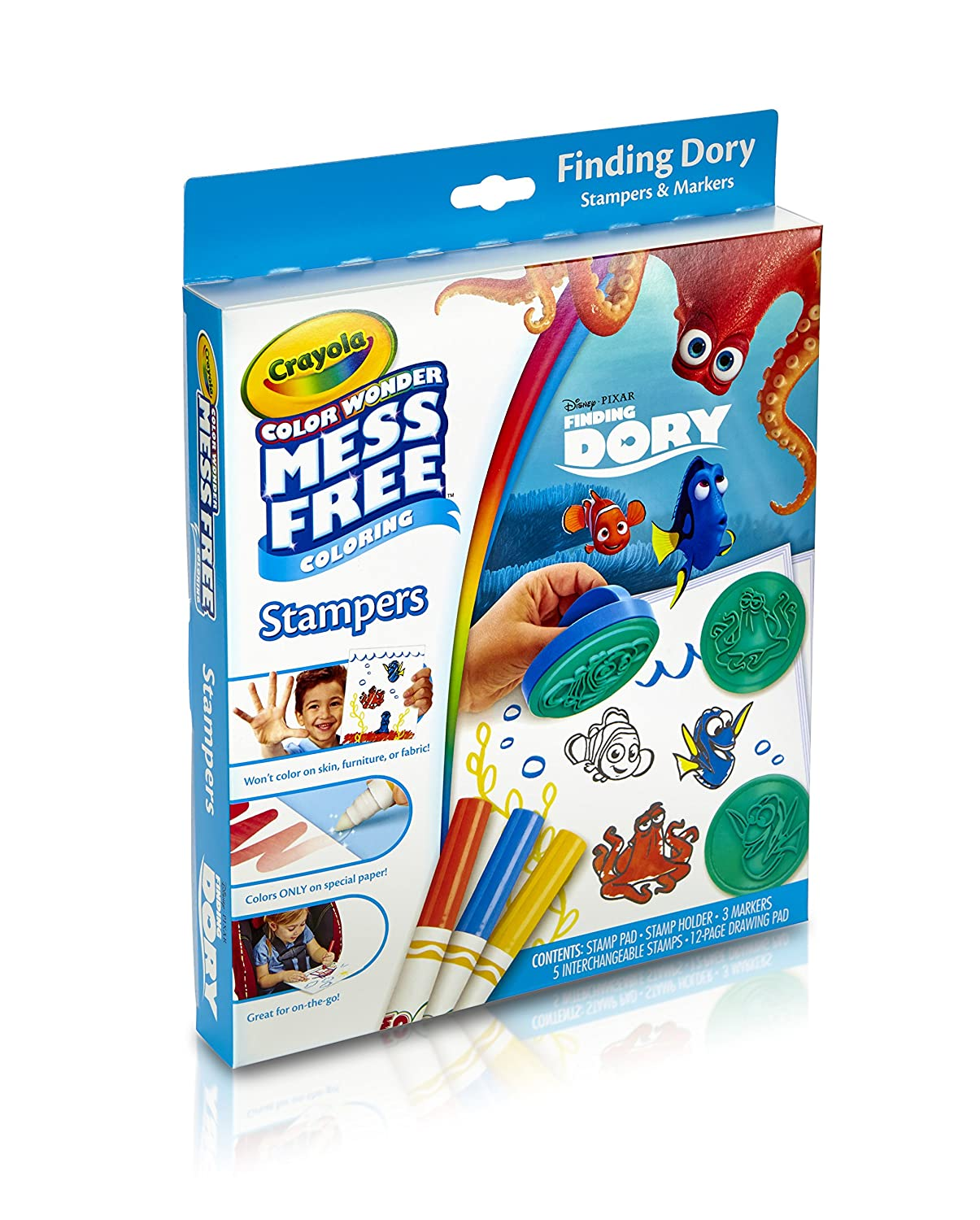 Amazon.com: Crayola, Color Wonder Mess-Free Coloring, Finding Dory ...