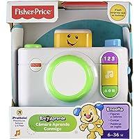 Fisher-Price DNY36 Ríe y Aprende Cámara Aprende Conmigo, Blanco, 3-36 meses