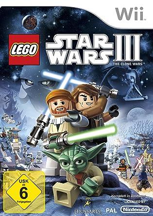 """Résultat de recherche d'images pour """"lego star wars iii the clone wars wii allemand"""""""