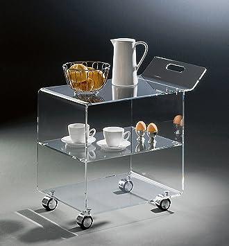 Free Acrylglas Teewagen Mit Verchromten Rollen Klar X With Acryl Rollen.  Finest Plexiglas Interessant Cb Peekaboo Acryl Couchtisch ...