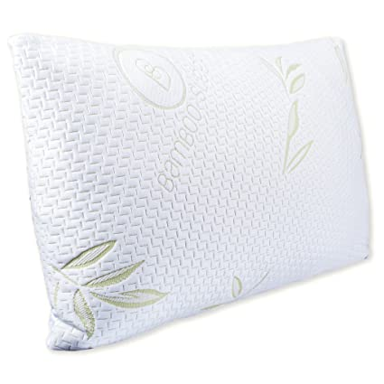 Amazon Hotel Comfort Bamboo Sleep Ultra Cool Bamboo Memory Gorgeous Hotel Comfort Bamboo Covered Memory Foam Pillow