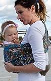 Lite-on-Shoulder Baby Sling Ergonomic, 100% Cotton, Adjustable Baby Carrier
