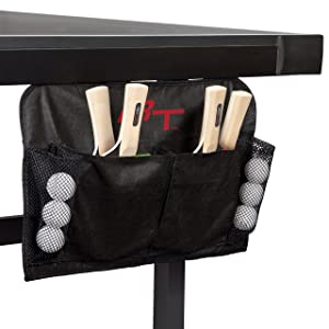 Rek-Tek 4-Player Paddle & Ball Set with Organizer