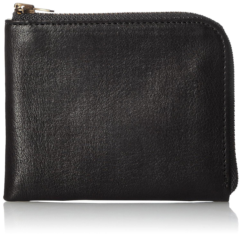 [スロウ] 短財布 bono smart mini wallet SO631F B075LCNT37  ブラック