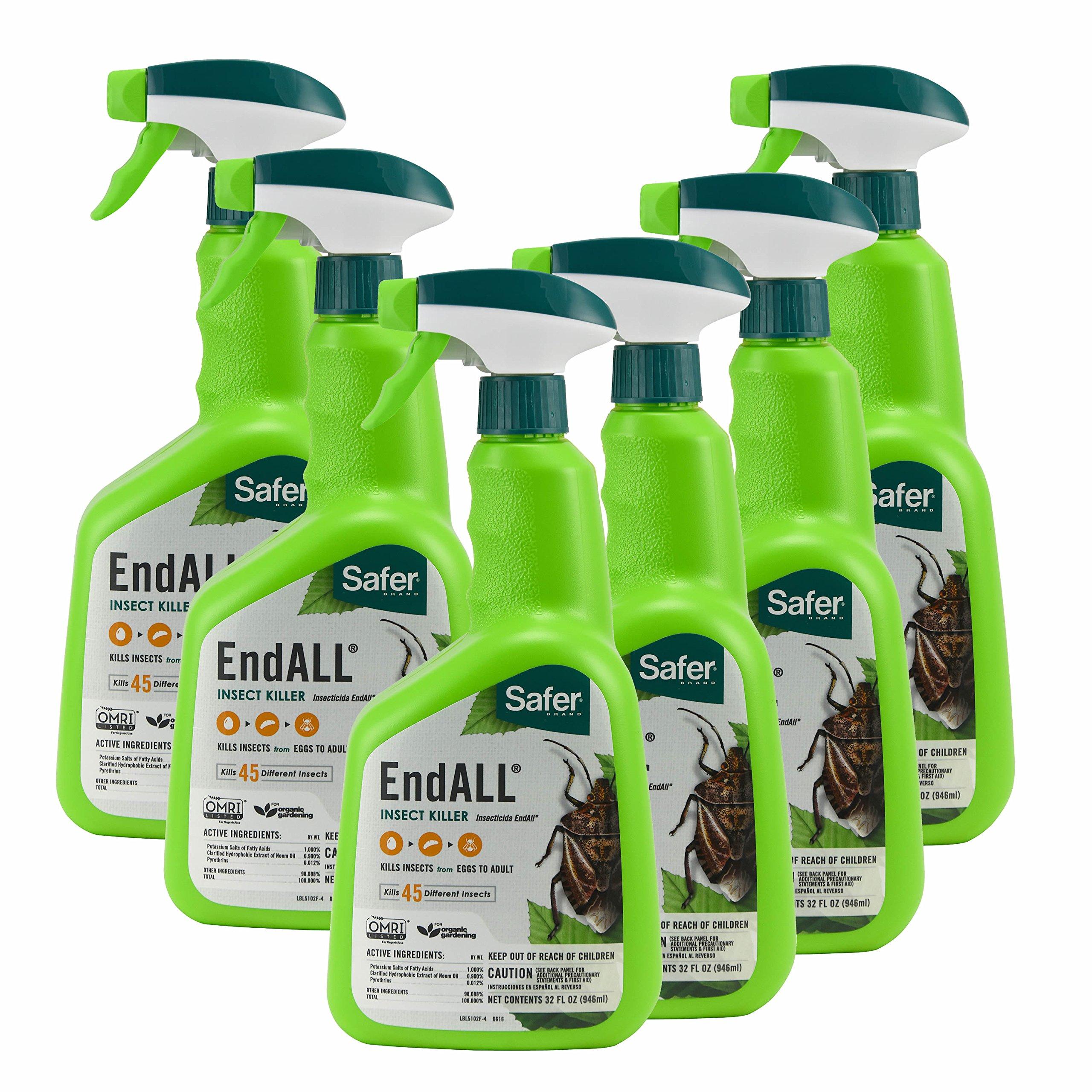 Safer Brand End All 32 oz RTU Spray - 6 pack 5102-6 by Safer Brand