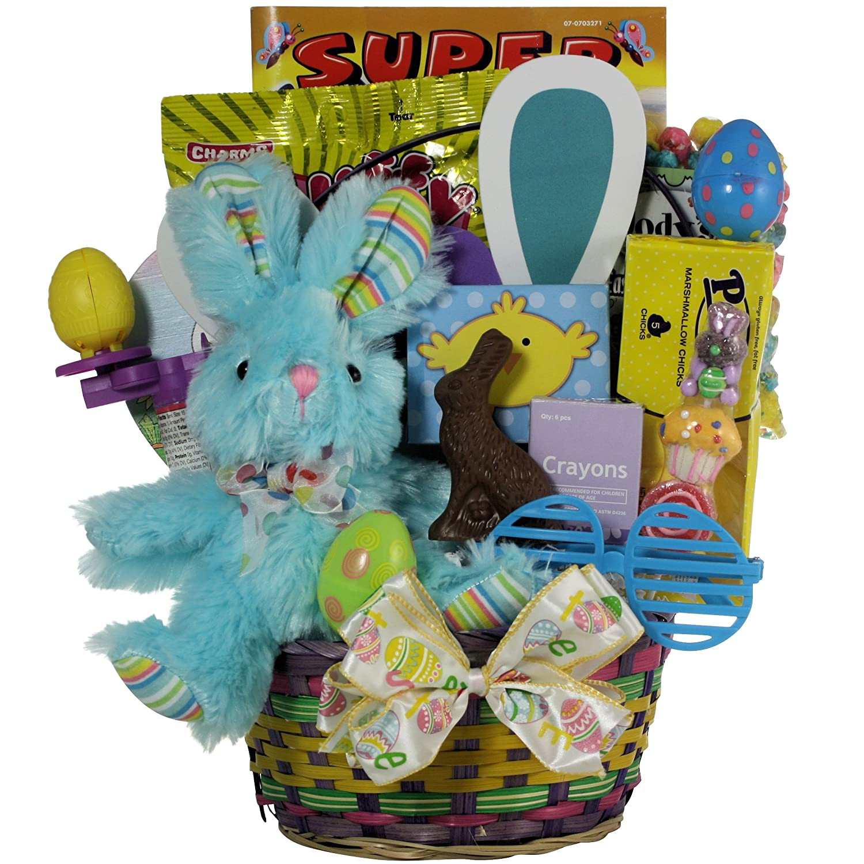Amazon.com : GreatArrivals Hoppin\' Easter Fun Boy Child\'s Basket, 3 ...