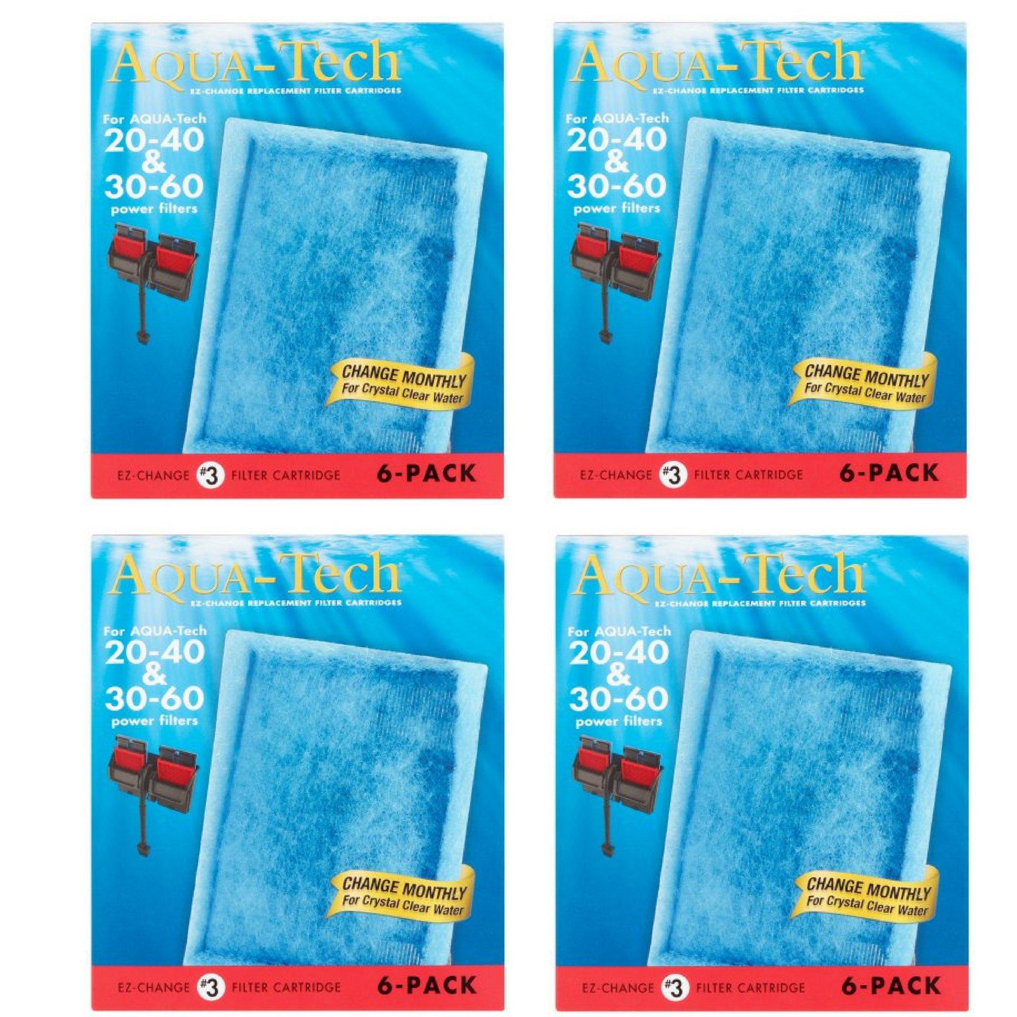 AquaTech EZ-Change Replacement #3 Filter Cartridge, 6 pack (4)