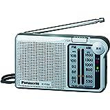 パナソニック ラジオ FM/AM/ワイドFM対応 シルバー RF-P150A-S