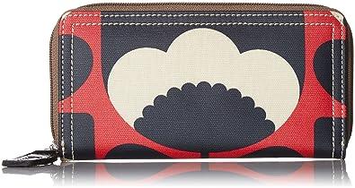 373e40c3ff3eb Amazon.com  Orla Kiely Women s Poppy Spring Bloom Big Zip Wallet ...