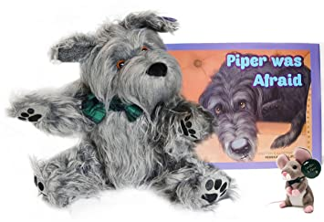 Amazon Com Piper Was Afraid Plush Toy And Book Set Signed By The