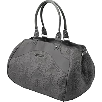 37615a31a254 Amazon.com   Petunia Pickle Bottom Wistful Weekender Diaper Bag in Champs-Elysees  Stop   Diaper Tote Bags   Baby