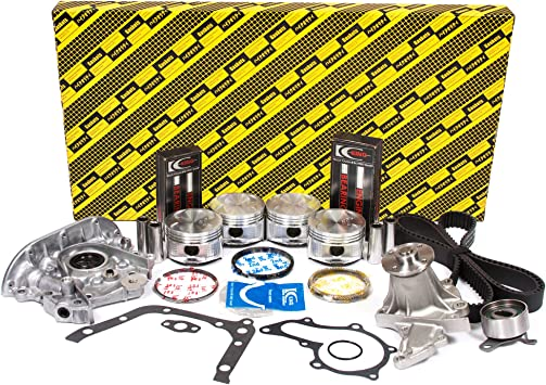 Pistons with Rings Geo Toyota 1.8 93-97 7AFE DOHC 16V
