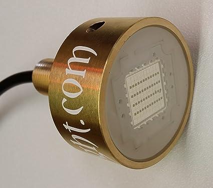 GREEN BRONZE VEGA BOAT DRAIN  LIGHT 133 watts 8000 LUMEN UNDERWATER TRANSOM LED