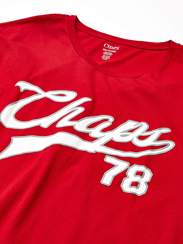Chaps - Camiseta de Manga Corta de algodón para Hombre: Amazon.es ...