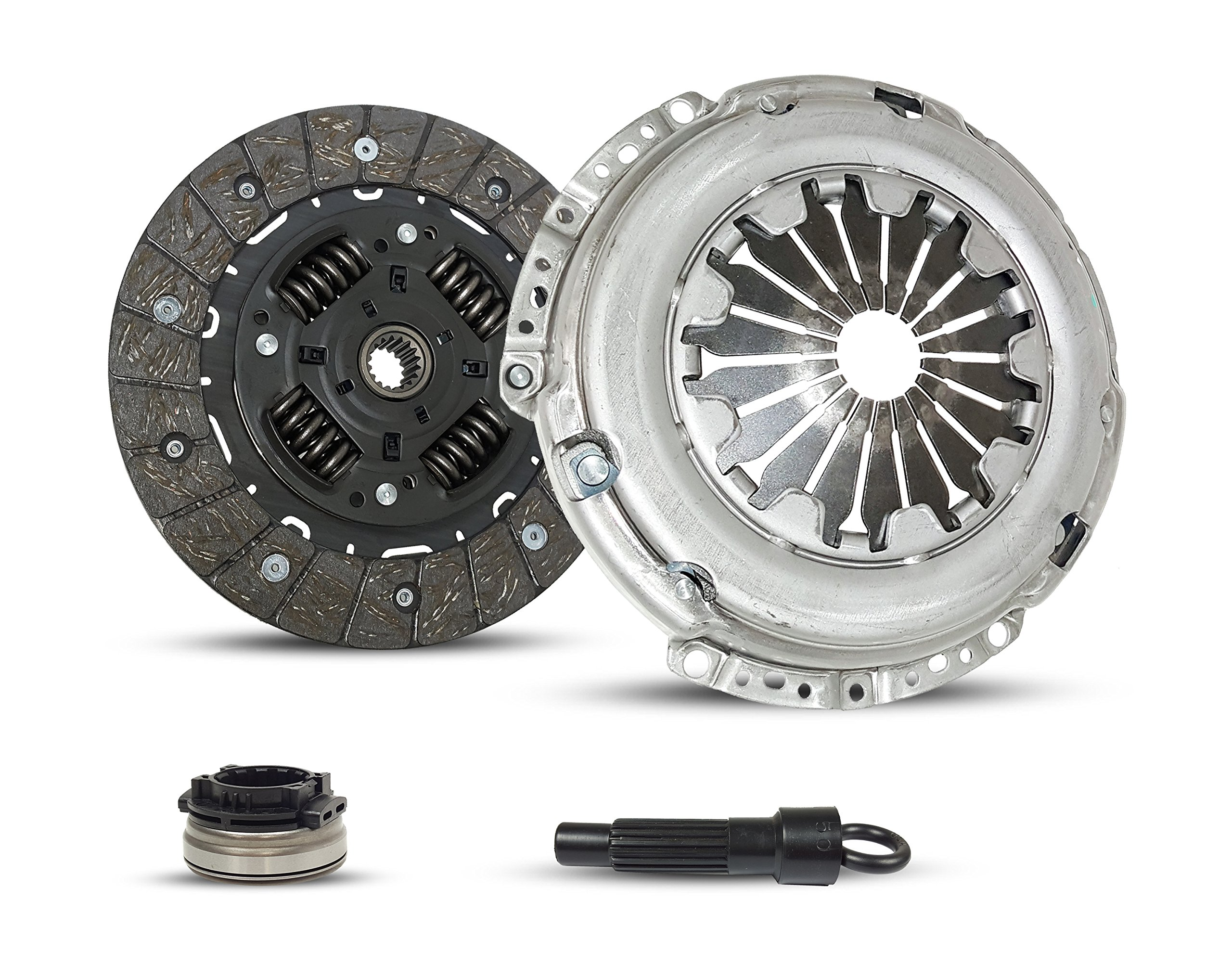 Clutch Kit Works With Mini Cooper Base Clubman Pepper Salt Hatchback Convertible 2007-2011 1.6L l4 GAS DOHC Naturally Aspirated (6-Speed)