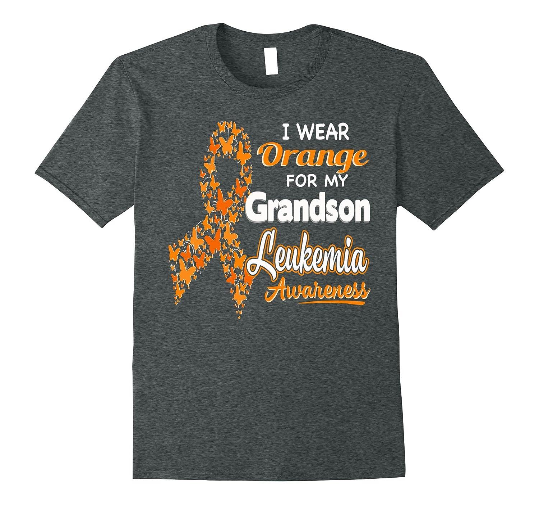 I wear Orange for my Grandson – Leukemia Awareness shirt
