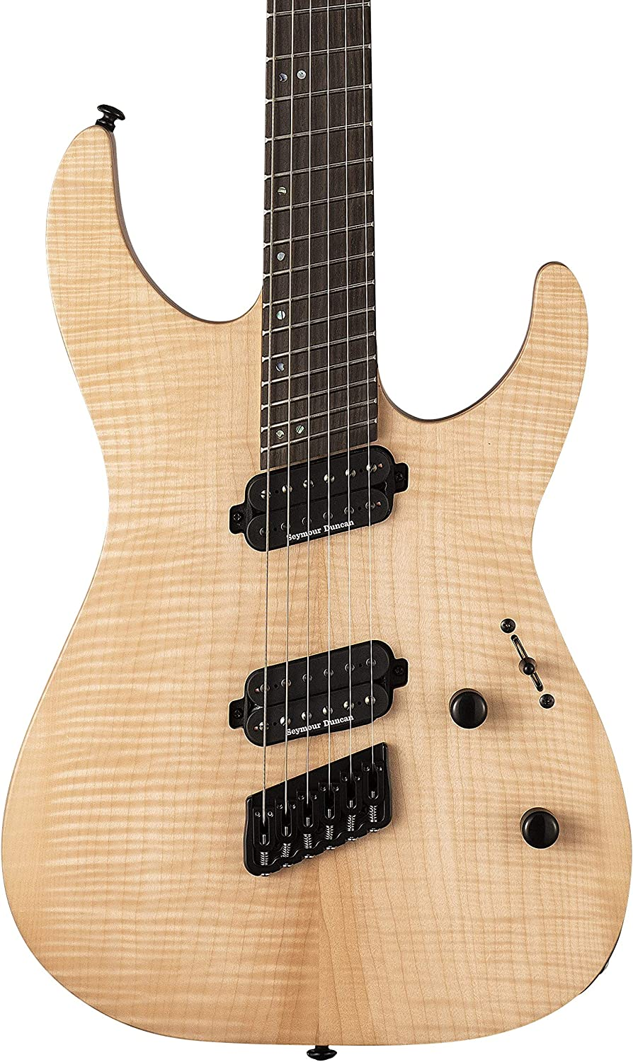 ESP LTD M-1000 - Guitarra eléctrica multiescala (raso natural ...