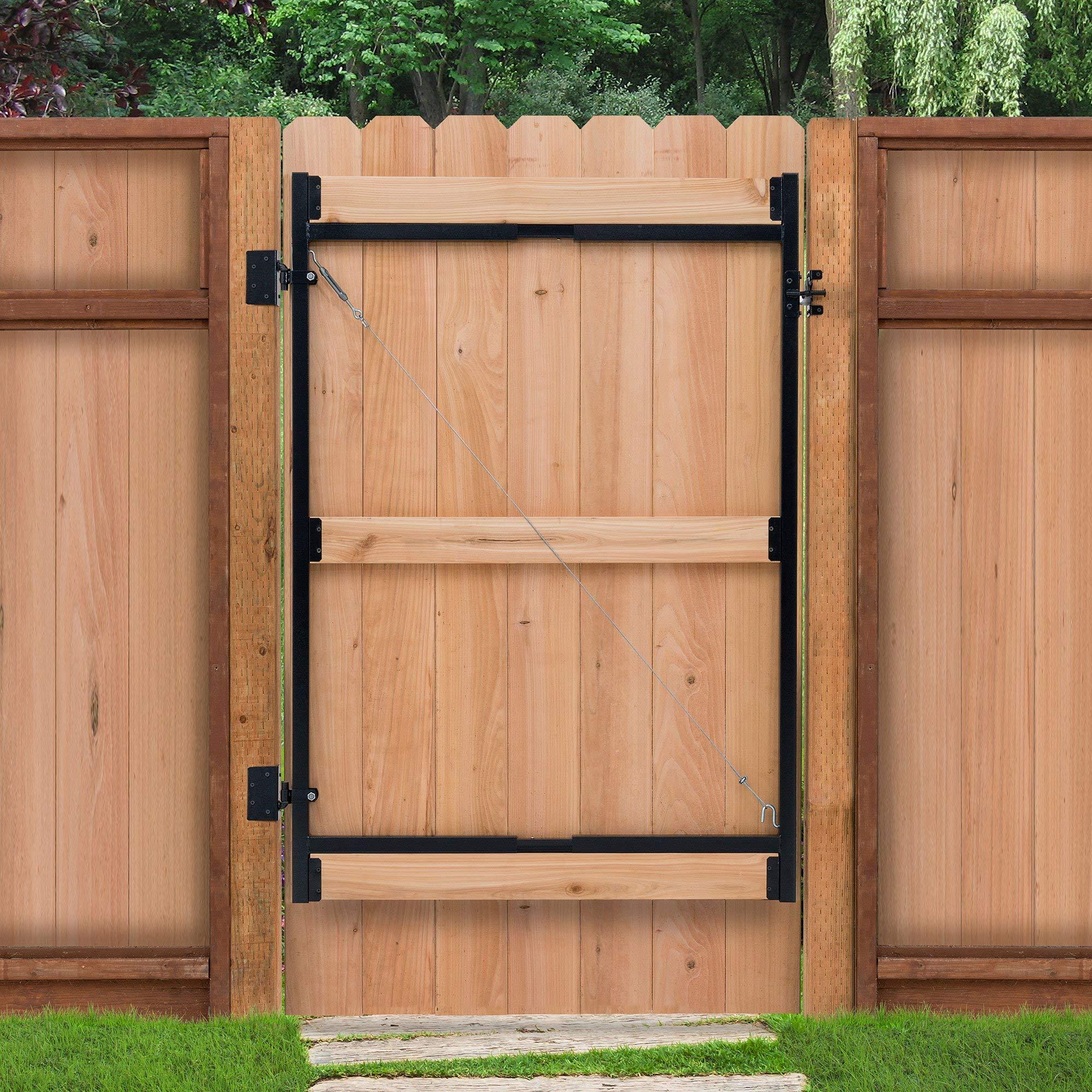 Adjust-A-Gate Steel Frame Gate Building Kit, 60''-96'' Wide, 6' High (2 Pack) by Adjust-A-Gate (Image #3)