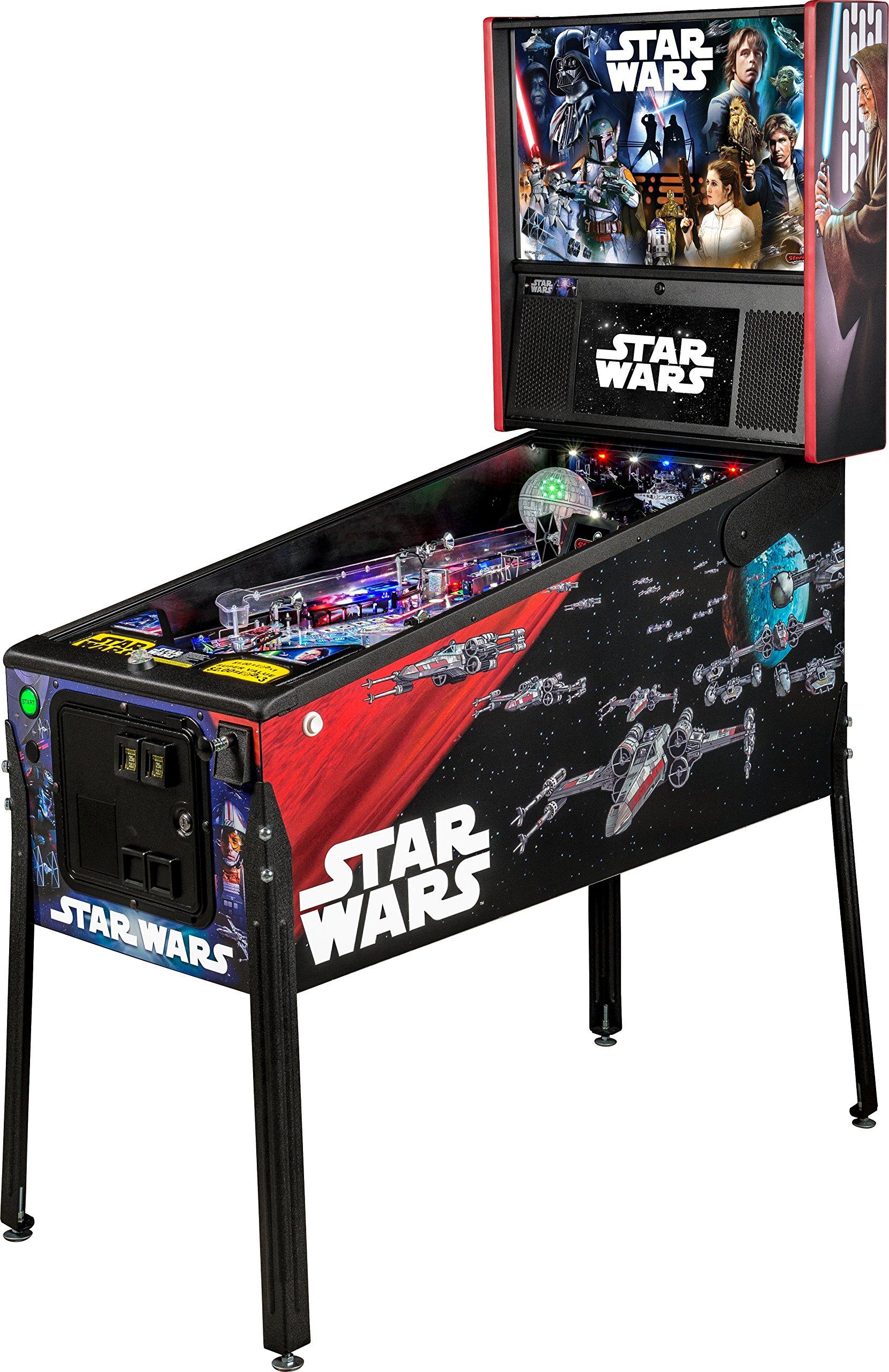 Stern Pinball Star Wars Arcade Pinball Machine, Pro Edition by Stern Pinball