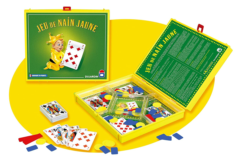 Dujardin - 106 - Jeu de Société - Grand Classique - Nain Jaune + Cartes:  Amazon.fr: Jeux et Jouets