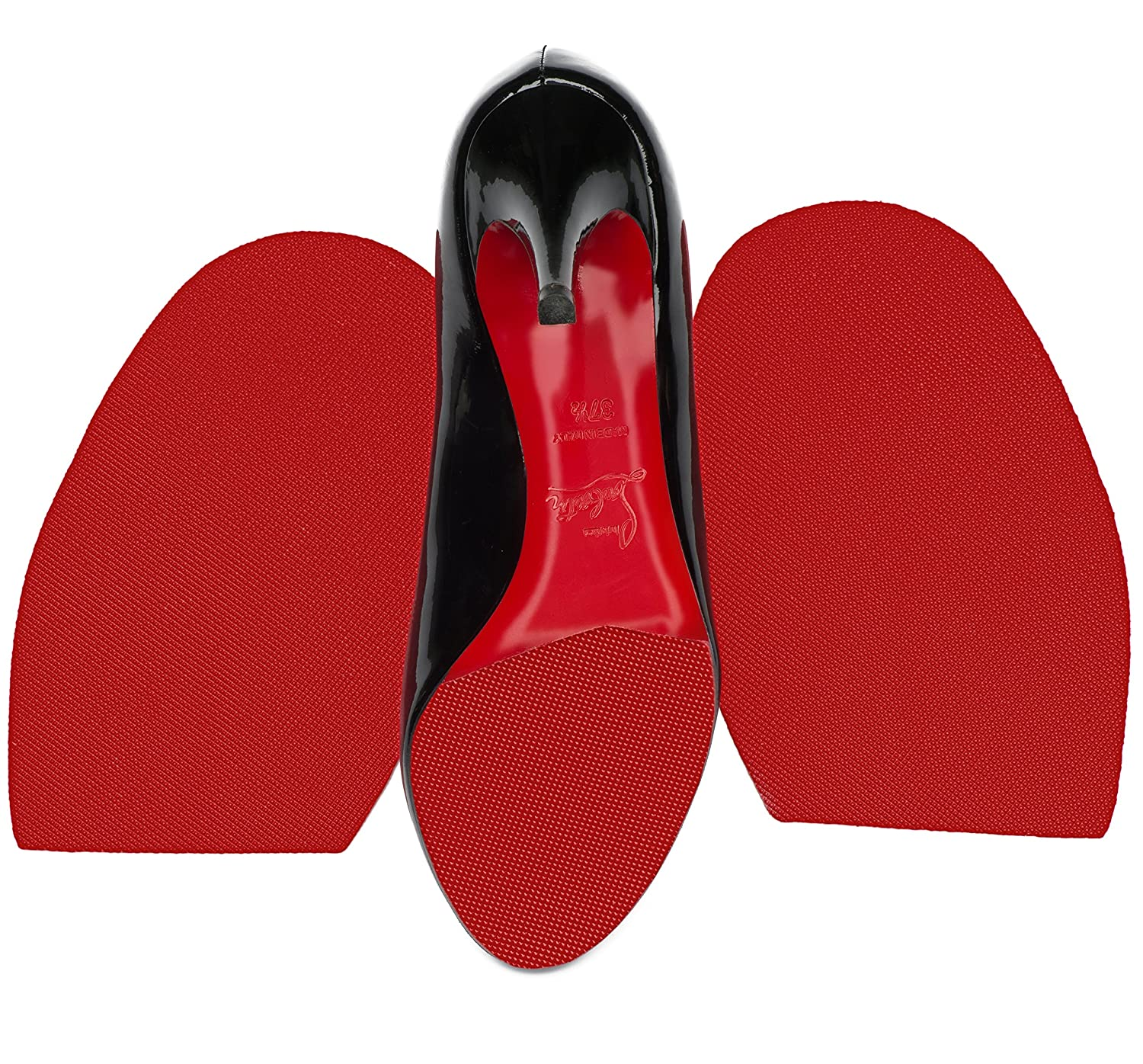 Amazon.com  PROTECT OUR SOLE Red Rubber Sole Repair for Christian Louboutin  Heels - Half Soles  Shoes 2bbc73527