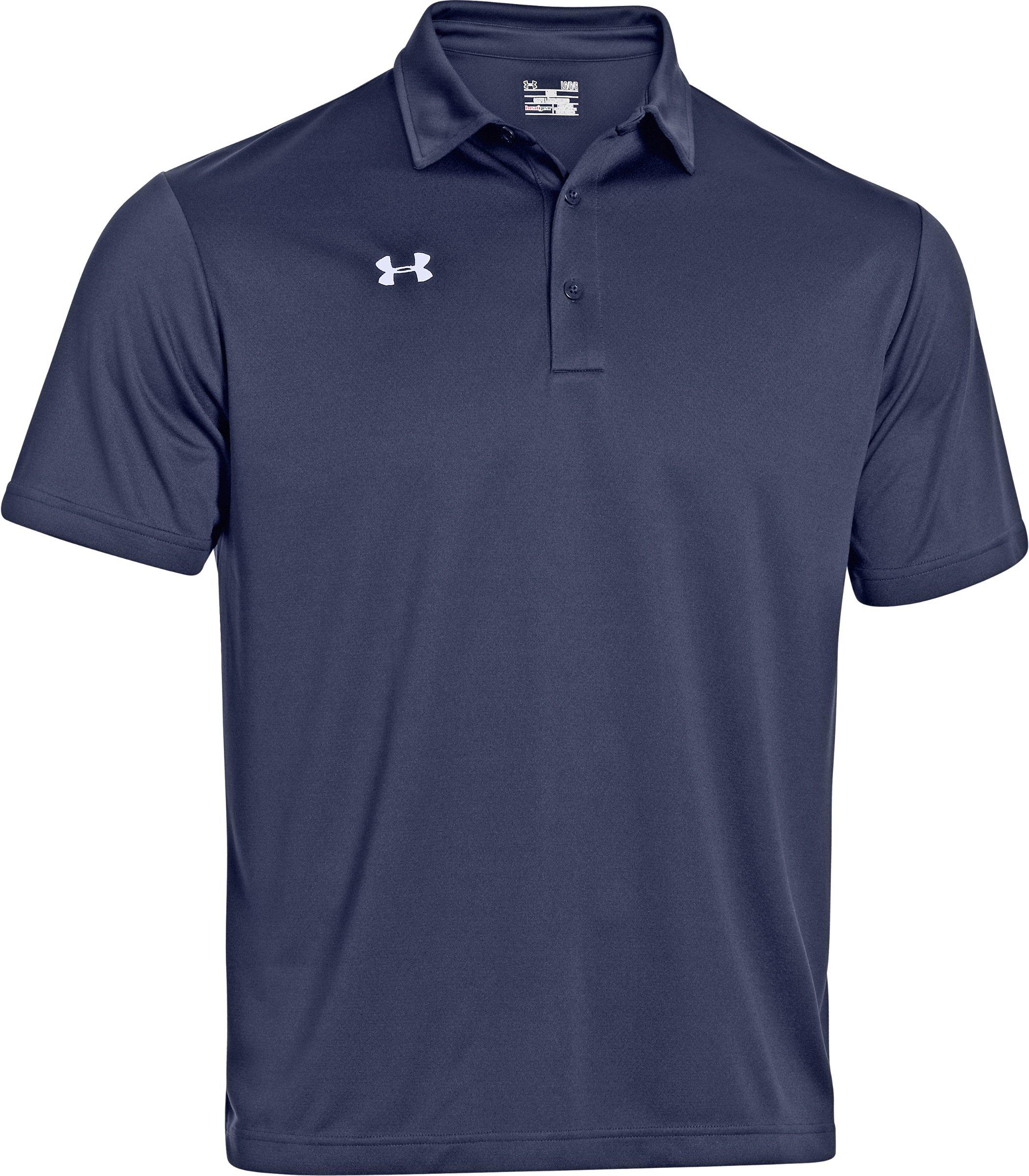 Under Armour Men/'s Team/'s Armour Polo Golf Shirt, Medium, Midnight Blue