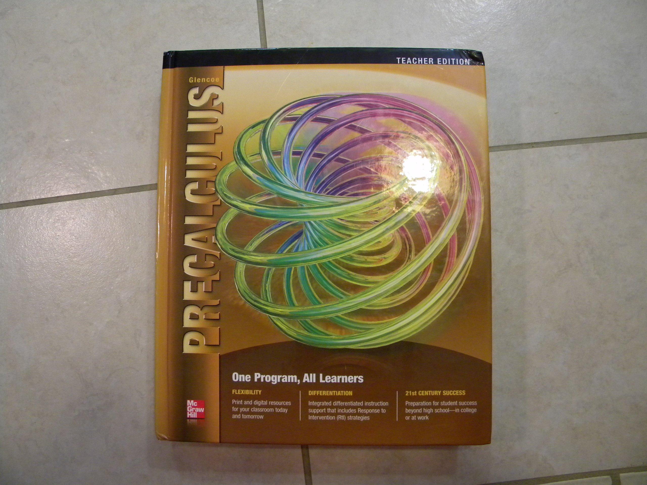 Glencoe Precalculus, Teacher Edition ebook