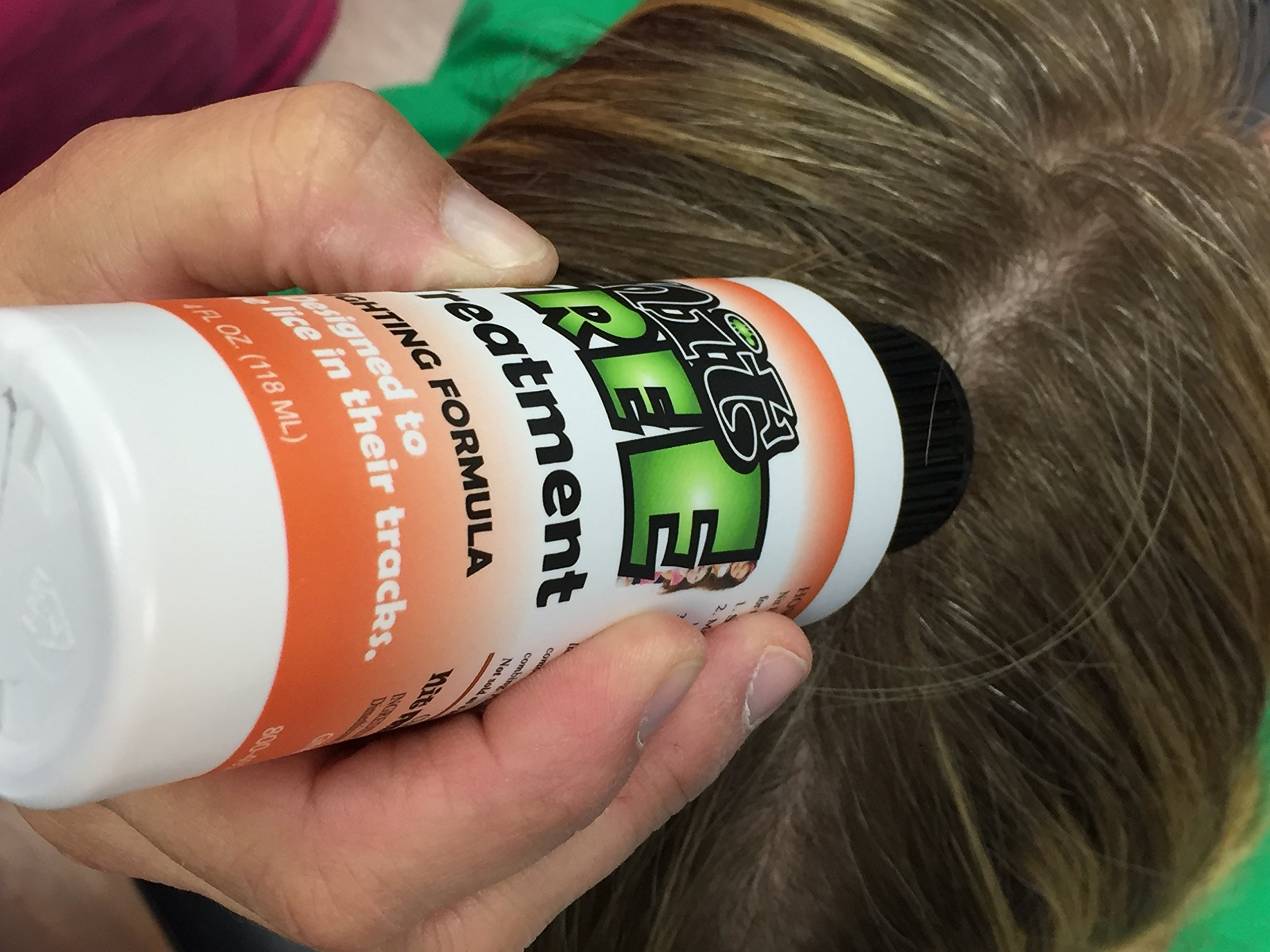 Nit Free Lice Treatment Shampoo for Head Lice. 4oz Olive Oil Based Headlice Treatment. For Removal of Super Lice. From the Maker of Nit Free Terminator Lice Comb and Lice Prevention Products