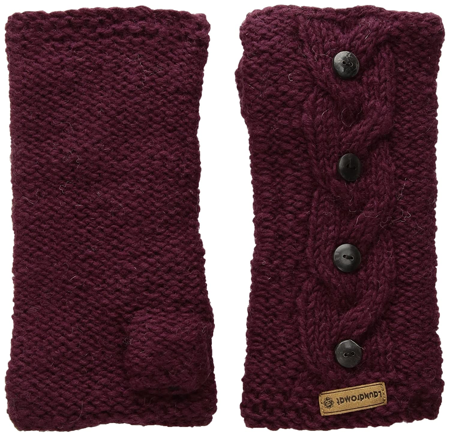 Laundromat Women's Haven Cold Weather Mitten, Bordeaux, One Size AHA