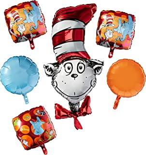 Seusss Cat in the Hat Pennant Banner Classroom Party Supplies 10 10/' Paper Magic Group 849627 Eureka Dr