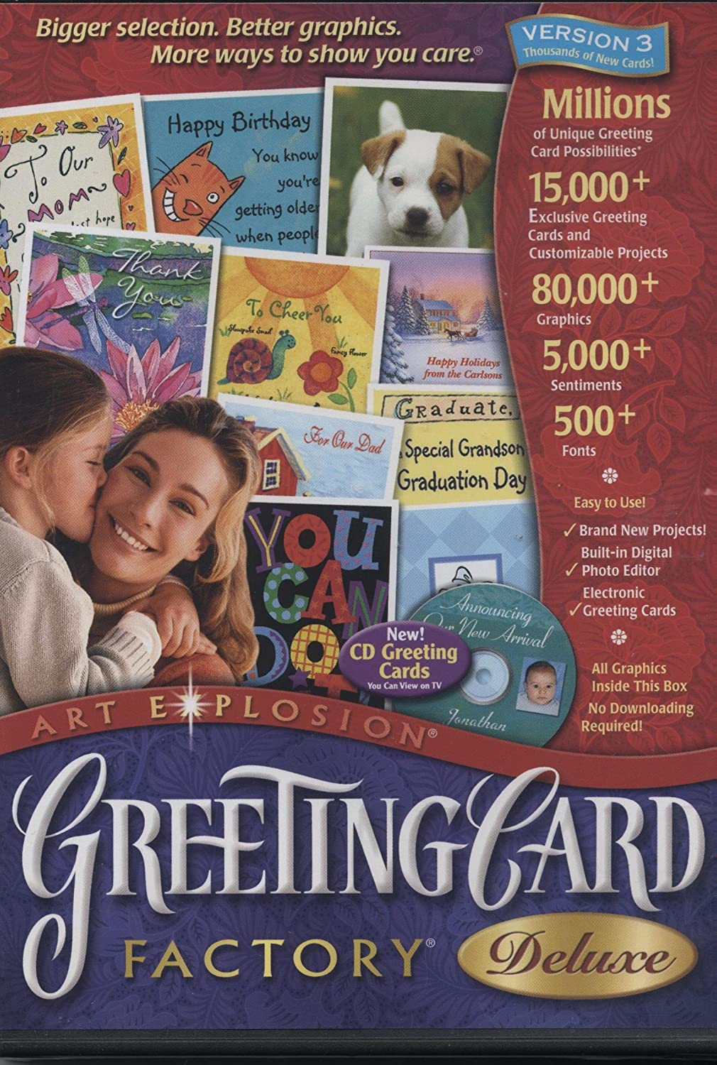 Amazon Greeting Card Factory Deluxe Version 3