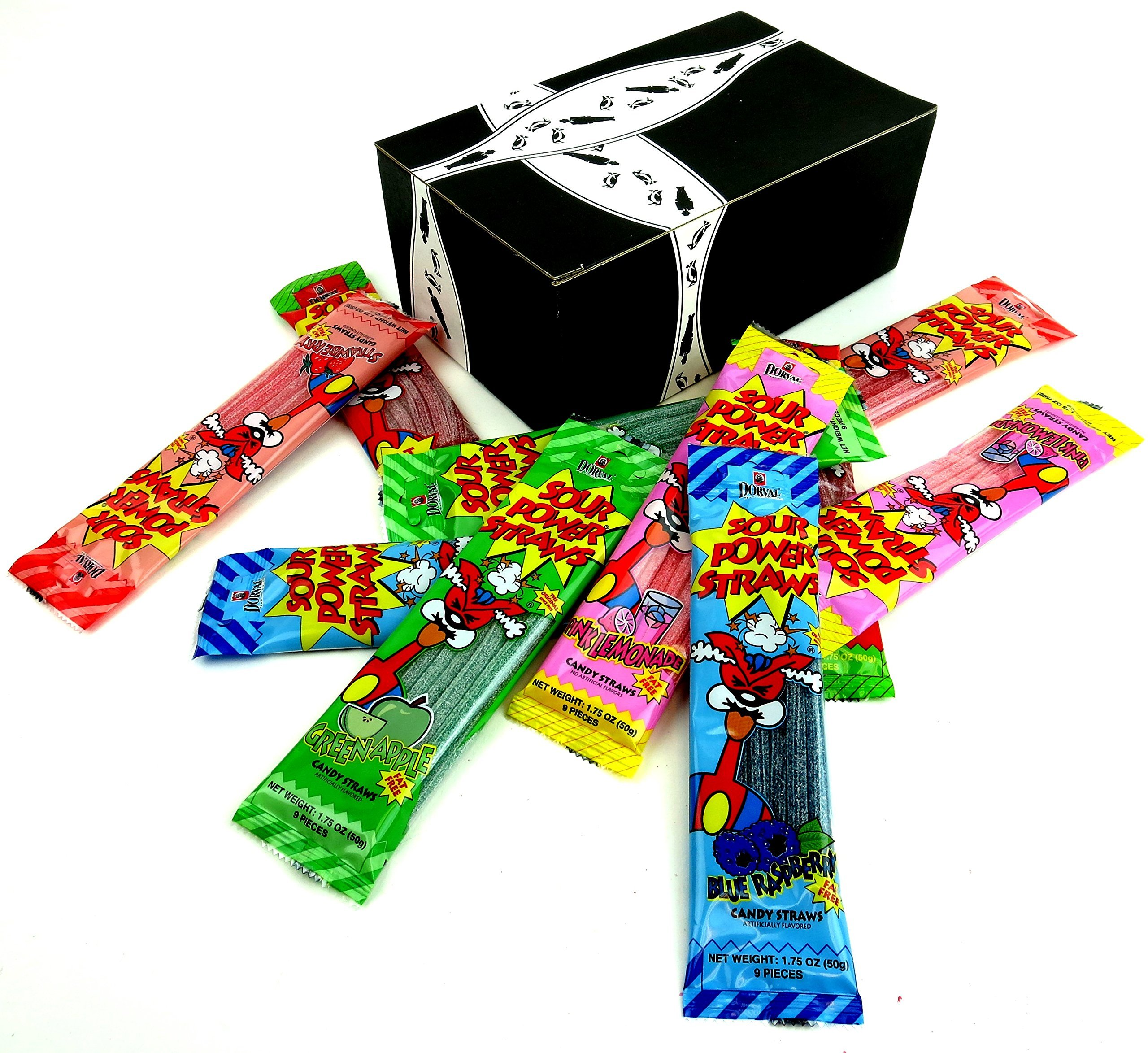 Amazon dorval sour power belts 4 flavor variety ten 035 oz dorval sour power straws 5 flavor variety two 175 oz packages each of green solutioingenieria Image collections