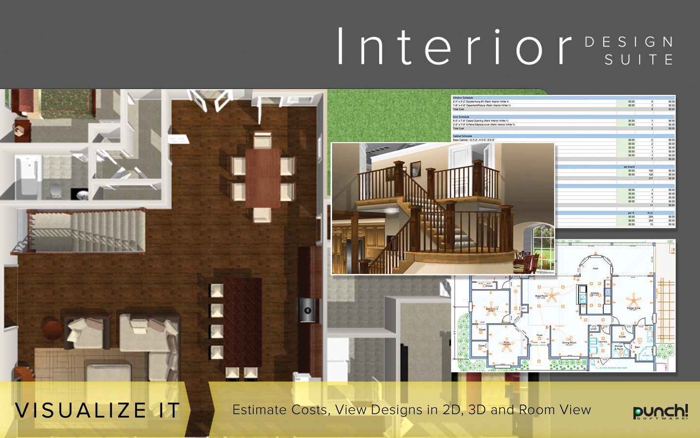 Interior Design Suite V19   The Best Selling Interior Home Design Software  For Windows PC [Download]: Software