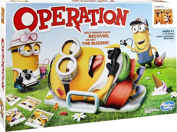 Hasbro C1342 Niños Party Board Game - Juego de Tablero (Party Board Game, Niños, Niño/niña, 6 año(s), AA, Alcalino): Amazon.es: Juguetes y juegos